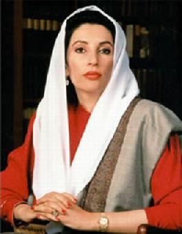 Il primo ministro pakistano Benazir Bhutto (1953-2007)