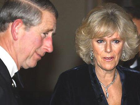 Il principe Carlo di Sassonia-Coburgo-Gotha con la moglie Camilla Rosemary Shand