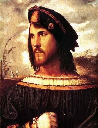 Altobello Melone, ritratto di Cesare Borgia, Bergamo, Accademia Carrara