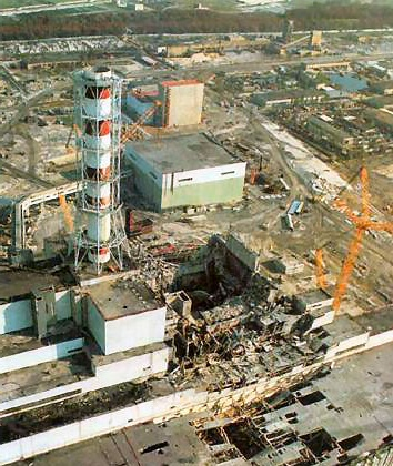 Il disastro nucleare di Chernobyl