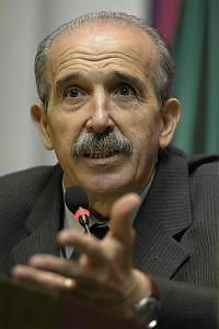 Il primo ministro del Ducato d'Emilia Renzo Imbeni