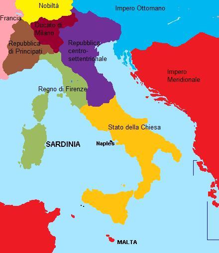 Cartina Italia Nel 1400.Ucronia Francesco I Sforza Re D Italia