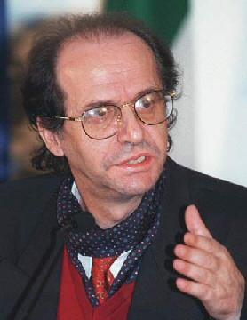 Il leader kosovaro Ibrahim Rugova