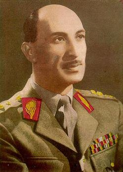 Il re dell'Afghanistan Mohammad Zahir Shah (1914-2007)