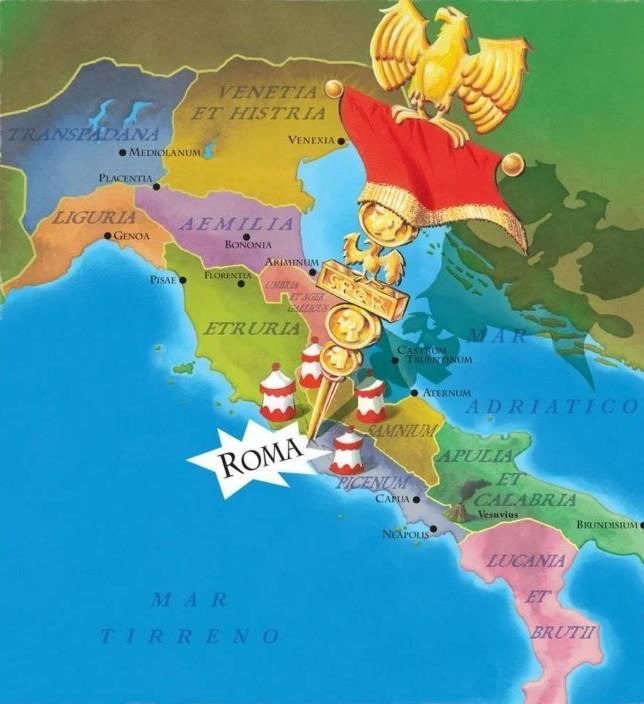 Cartina Italia Romana.Ucronia La Vittoria Di Spartaco