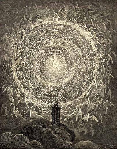 Dante E Beatrice Contemplano Il Paradiso Gustave Dor 1868