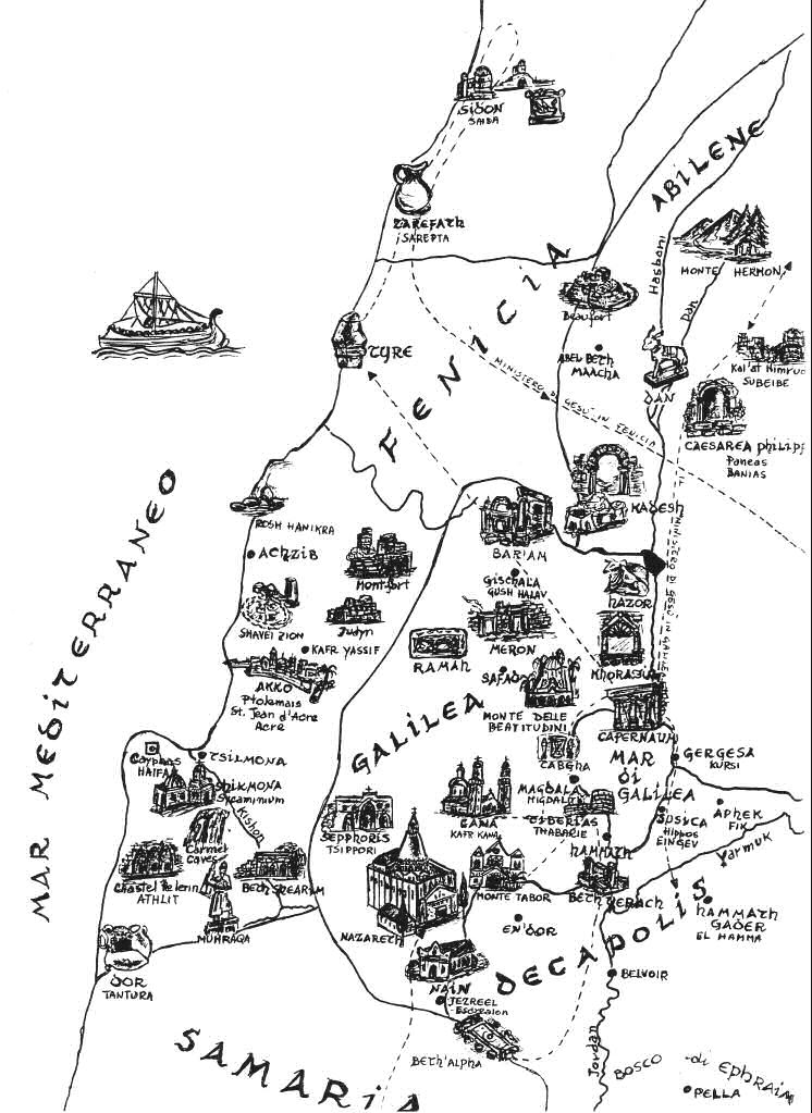 Cartina Muta Della Palestina.Galleria Di Immagini La Bibbia