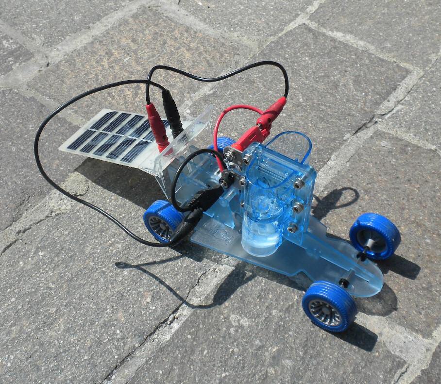 Pannello Solare Ibrido Ad Idrogeno : Esperienze di fisica le frontiere della moderna