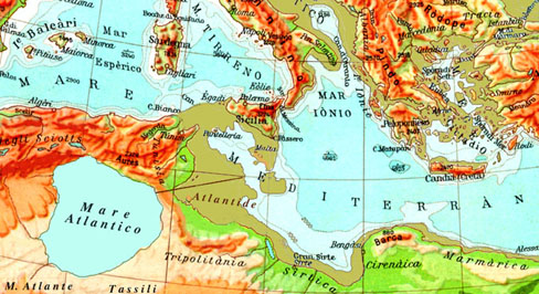 Il diluvio nel mar nero - Ci mappa da colorare pagina di mappa ...