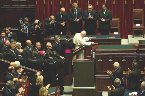 discorso del papa al parlamento il 14 11 2002