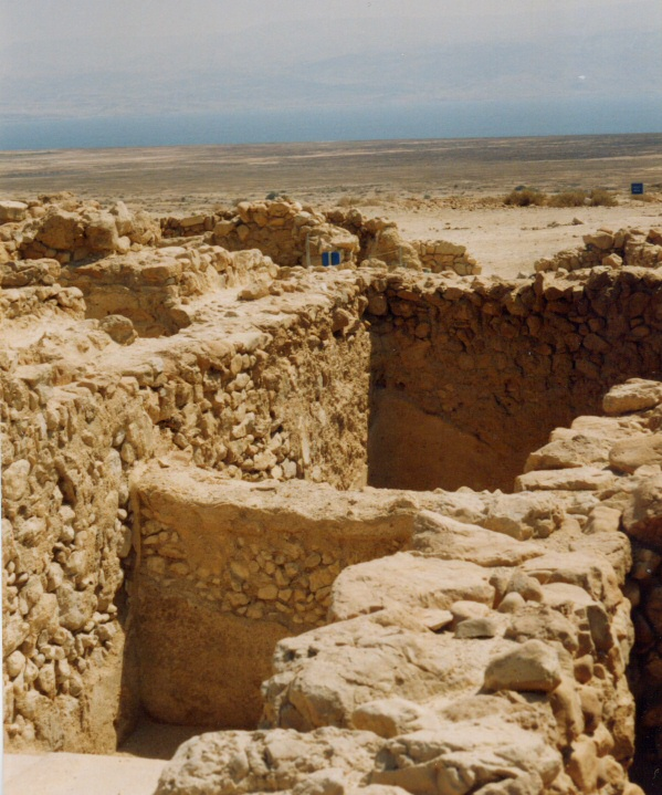Resti di Qumran, foto di Franco Maria Boschetto