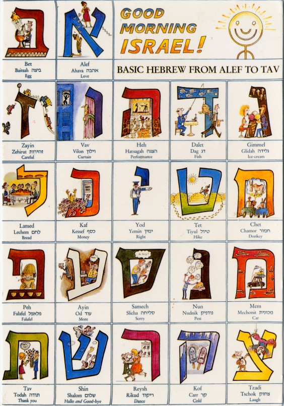 Basic Hebrew from Alef to Tav dans immagini sacre hebrew