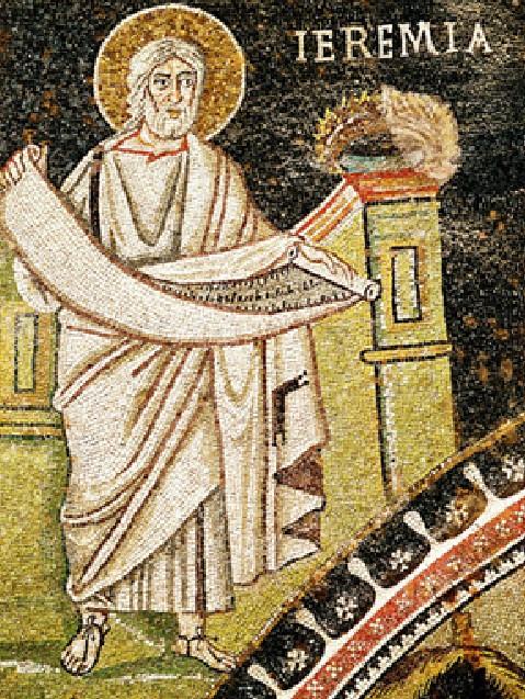 Prophète Jérémie dans images sacrée Geremia1
